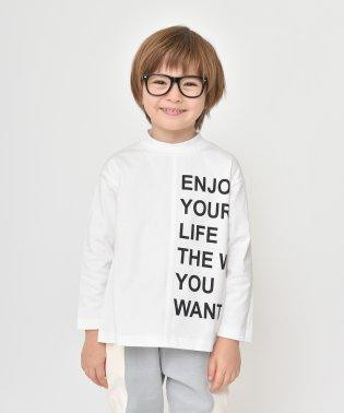 モックネック長袖Tシャツ(80~150cm)