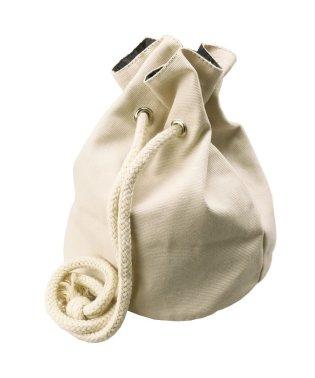 キャンバス巾着バッグ