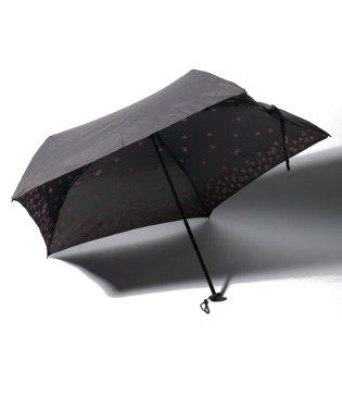 BE SUNNY ビーサニー スリム3段折りたたみ傘 インハート ポーチ付  (晴雨兼用 UVカット 紫外線カット 耐風 軽量 撥水)