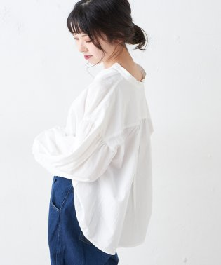 【OUTLET】袖パフブラウス