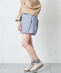 【OUTLET】ツイル脇ベルト付きスカート