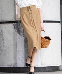 強撚レーヨンツイルタイトスカート