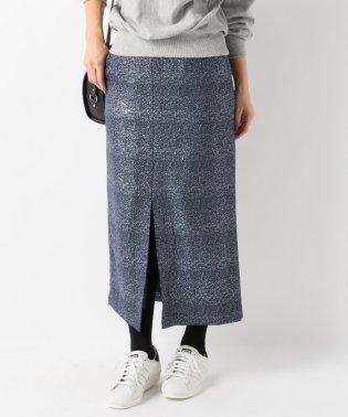 箔プリントタイトスカート