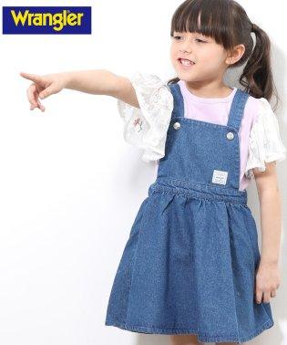 【WRANGLER×ROPE' PICNIC KIDS】ジャンパースカート