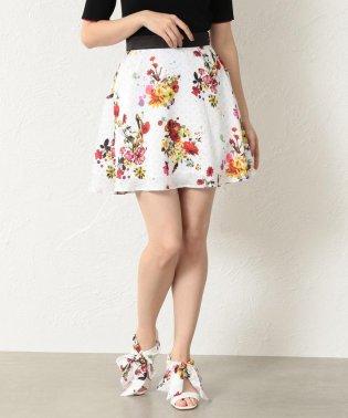 【LOVELESS】WOMEN nowarttモノグラムフレアスカート