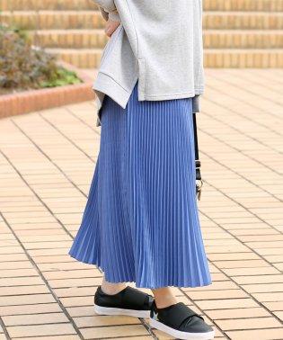 ◆ハイウエストですっきり見せ◆アコーディオンプリーツスカート