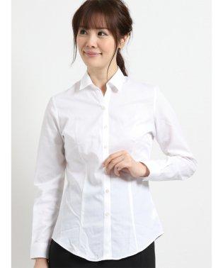形態安定レギュラーカラースキッパー長袖ツイルシャツ