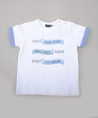天竺飛行機プリントTシャツ