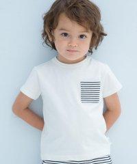 ベア天竺ポケット半袖Tシャツ(70cm~90cm)