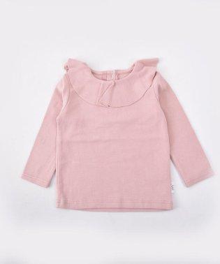 ベアフライス襟フリルTシャツ
