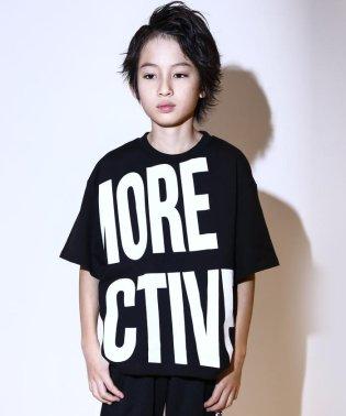 【カタログ掲載】【ニコプチ掲載】天竺ビッグロゴプリントTシャツ