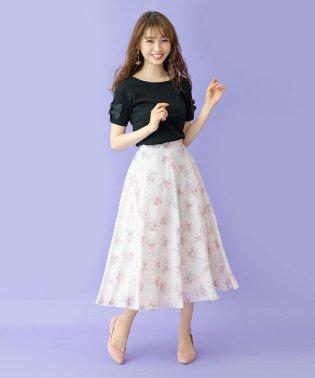 ビンテージ小花スカート