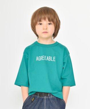 ロゴ7分袖Tシャツ(80~150cm)