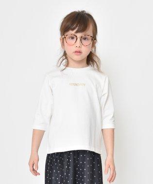 ロゴ7分袖ビックシルエットTシャツ(80~150cm)