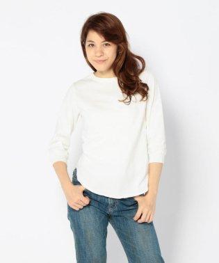 Ahe'hee(アヘヘ) 丸胴 八分丈Tシャツ
