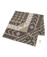 YARN&COPPER(ヤーン カッパー)  windsor flock スカーフ真鍮リング付