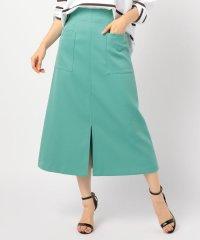 [新色追加]ホイップドスキンAラインミディポケットスカート