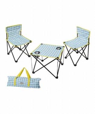 マミーフィールド テーブル&チェアセット ギンガムチェック