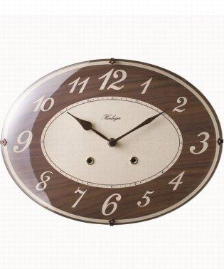 掛時計 レーリア ブラウン