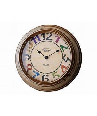 掛時計 オドレー ブラウン