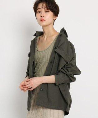 【洗える】高密度ツイル シャツジャケット