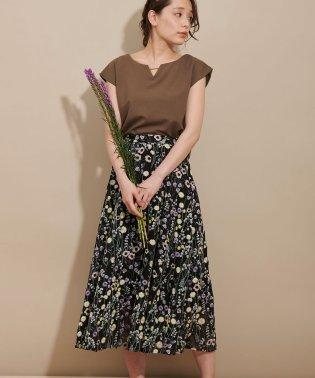 【with 5月号掲載】ボヘ刺繍ロングスカート