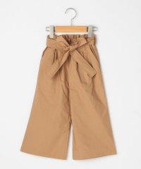 SHIPS KIDS:リボン ワイド パンツ(100~130cm)
