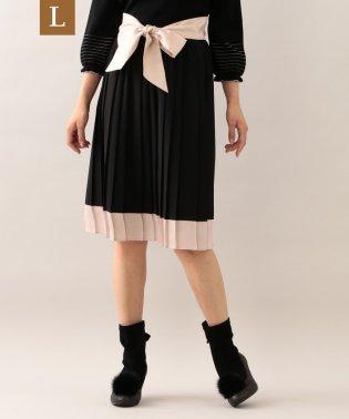 【L】ノルディスジョーゼットプリーツスカート