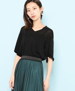 【SENSEOFPLACE】ポロセーター(5分袖)