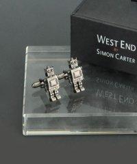 サイモンカーター  west end by simon carter ロボット カフリンクス カフス