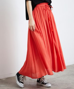 楊柳マキシスカート