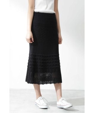 |CanCam 5月号掲載|《EDIT COLOGNE》クロシェスカート