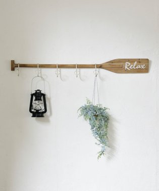Oar wall hook