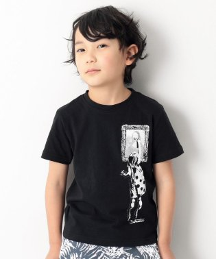 dotmasterコラボ プリント半袖Tシャツ