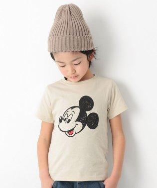 ミッキー柄Tシャツ