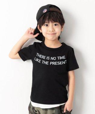 ポケットロゴプリントTシャツ 男の子 女の子