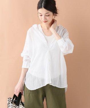 【ARMEN/アーメン】 シングルガーゼバンドカラーシャツ
