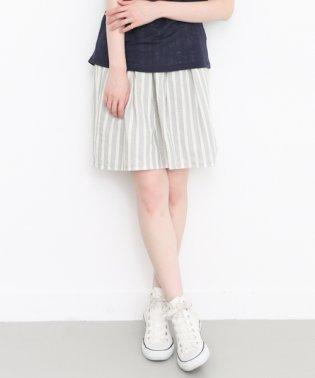 【KBF】ブークレストライプフレアスカート