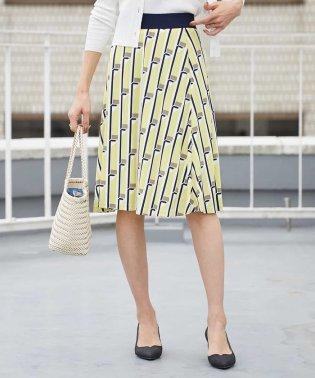 【洗える】オリジナルプリントフレアスカート