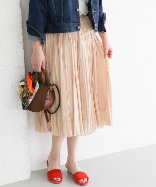 【ROSSO】ヴィンテージサテンプリーツスカート