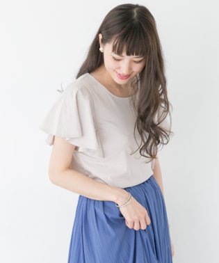 【ROSSO】フレアスリーブプルオーバー