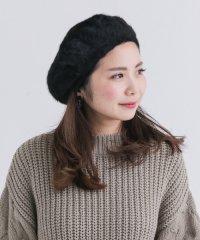 【SonnyLabel】アンゴラベレー帽