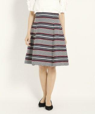 トリコヘリンボーン スカート