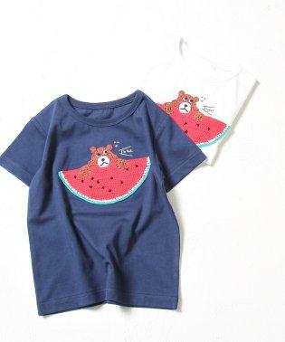 【coen キッズ / ジュニア】コーエンベア がぎ針編みTシャツ (100~150cm)