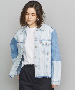 <LEVI'S(リーバイス)>EX-BOYFRIEND デニムトラッカージャケット