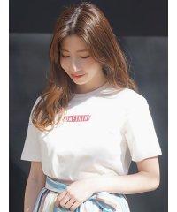 【SOMETHING×MERCURYDUO】ボックスロゴTシャツ