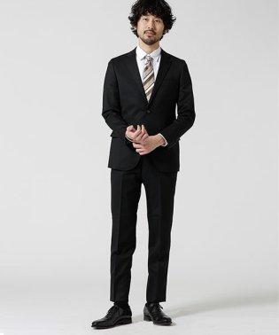 【WEB限定】スーツ+ソリッド+スリム+ブラック