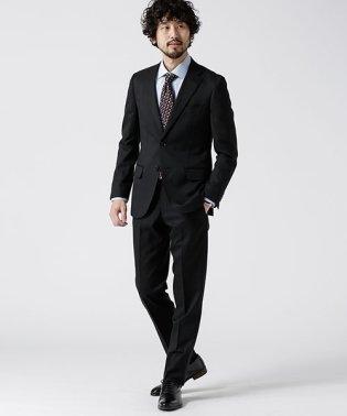 【WEB限定】スーツ+ソリッド+スタンダード+ブラック