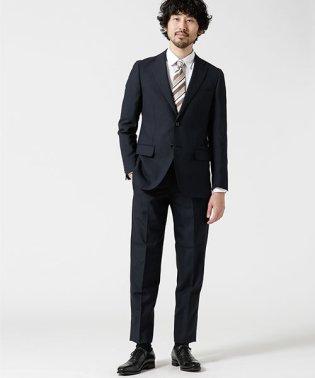 【WEB限定】スーツ+バーズアイ+スタンダード+ブラック