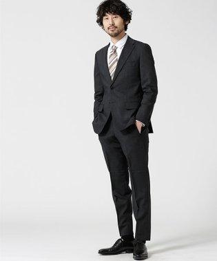 【WEB限定】スーツ+ソリッド+スタンダード+グレー